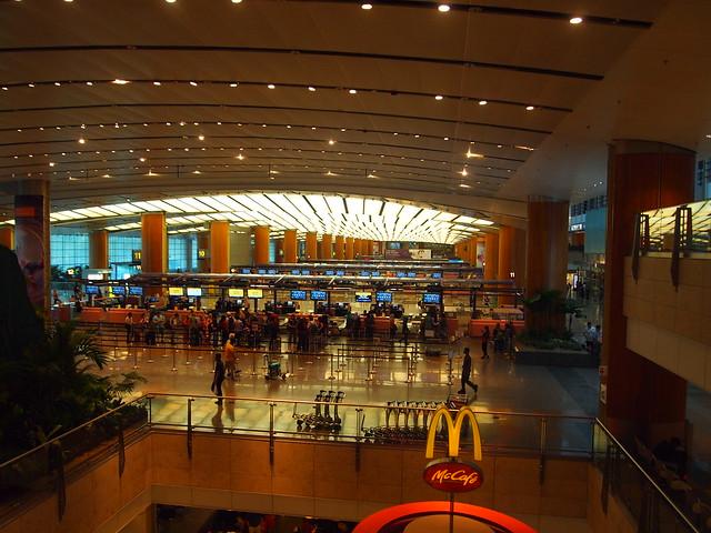 P4199462 チャンギ空港 シンガポール singapore