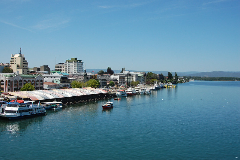 Views over the River, Valdivia, Los Ríos, Chile