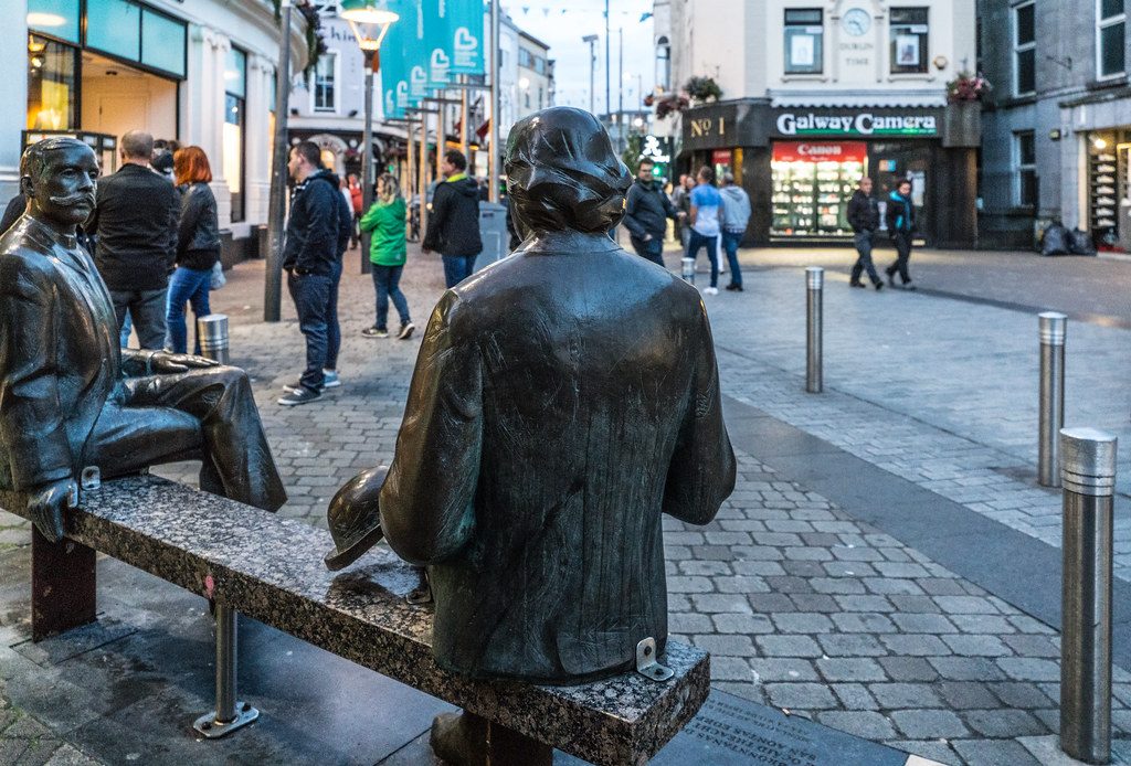Oscar & Eduard Wilde [Public Art In Galway And Tartu]-119854