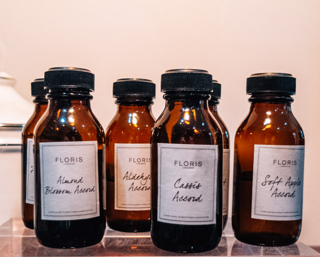 floris london perfume ingredients