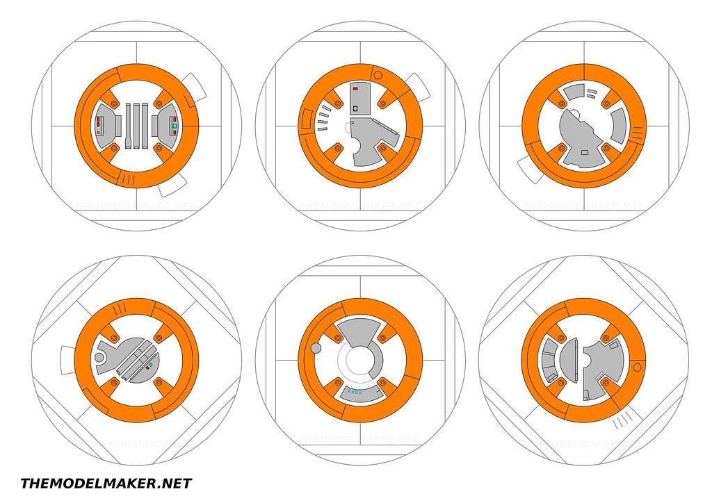 Bb8 Blueprint Ver 1 Here Is A Set Of Blueprints I