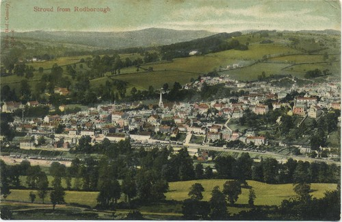 Stroud from Rodborough | by angust