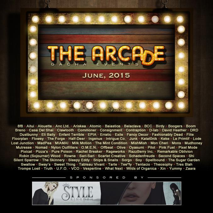 The Arcade - June 2015 Gacha Event Poster