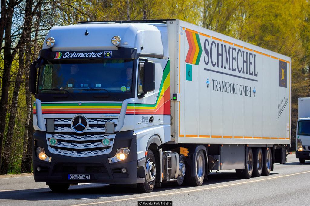 Mercedes-Benz Actros MP IV GigaSpace (D) - Schmechel | Flickr