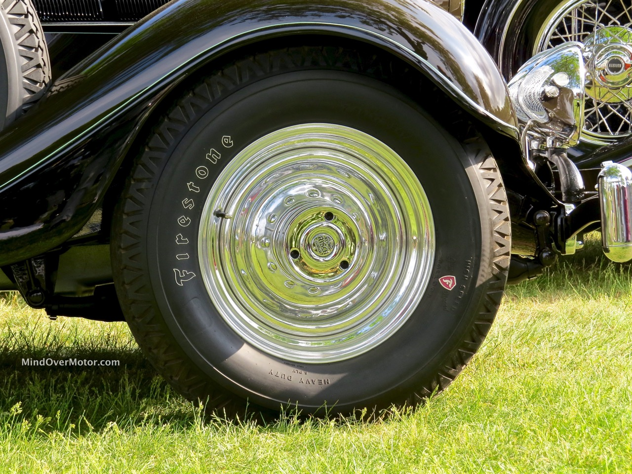 1935 Packard 1201 Wheelcover