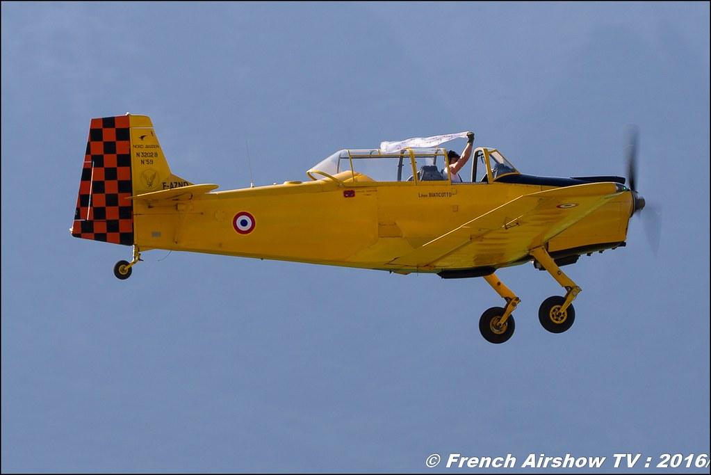 Nord 3202-B Master - F-AZND , DOMMARTIN Bertrand , Grenoble Air show 2016 , Aerodrome du versoud , Aeroclub du dauphine, grenoble airshow 2016, Rhone Alpes