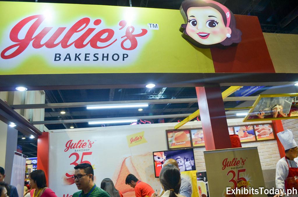 Julie's Bakeshop Exhibit Booth