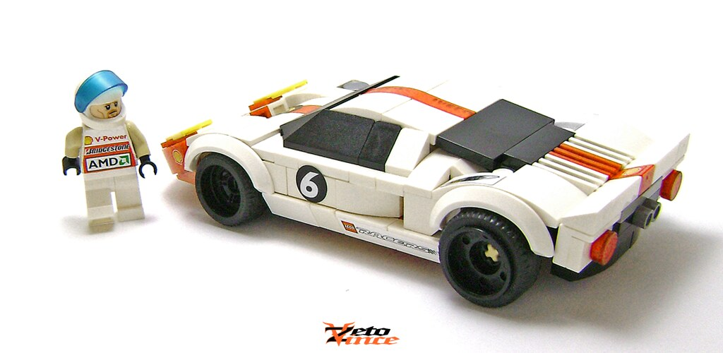 Ford Gt Racing By Zetovince