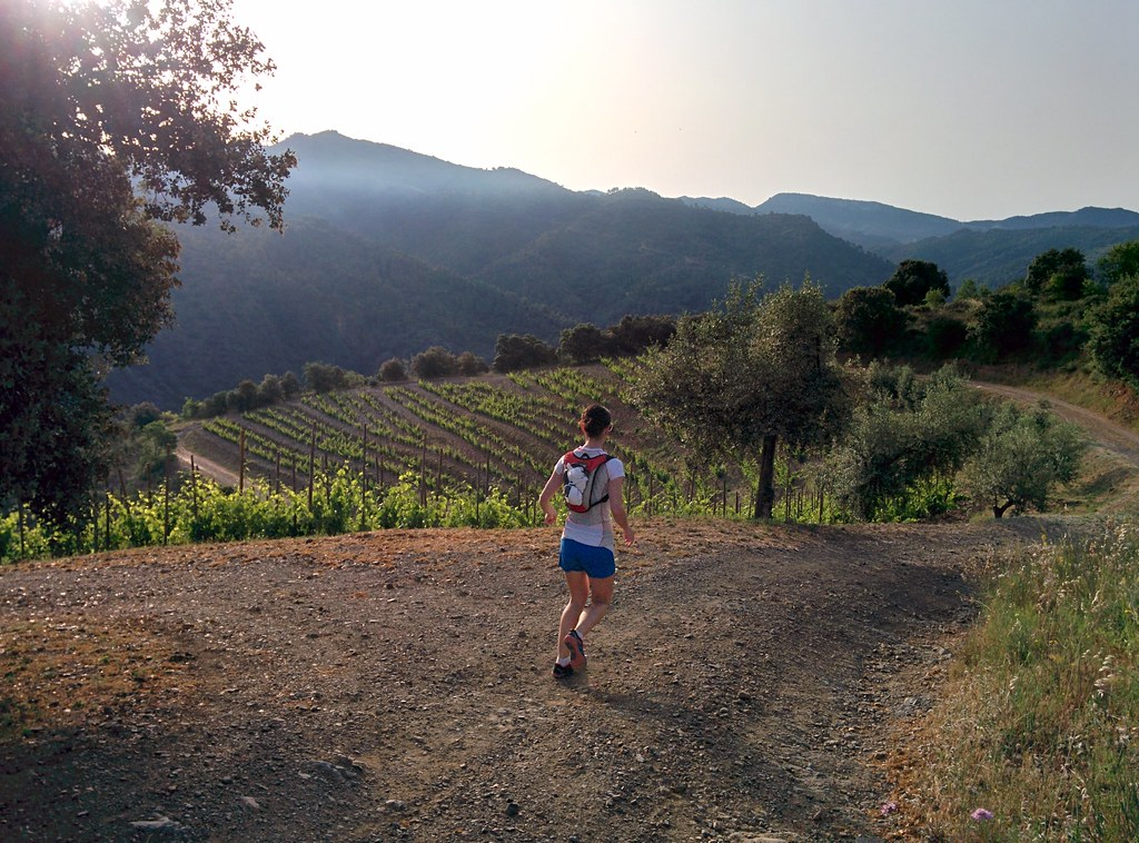 Running in Priorat