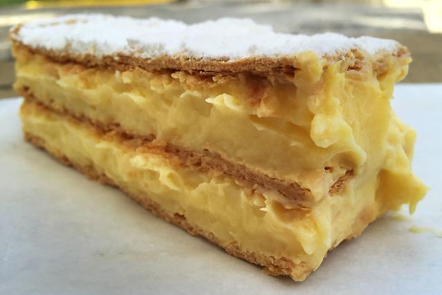 Vanilla Slice: Crows Nest Bakery