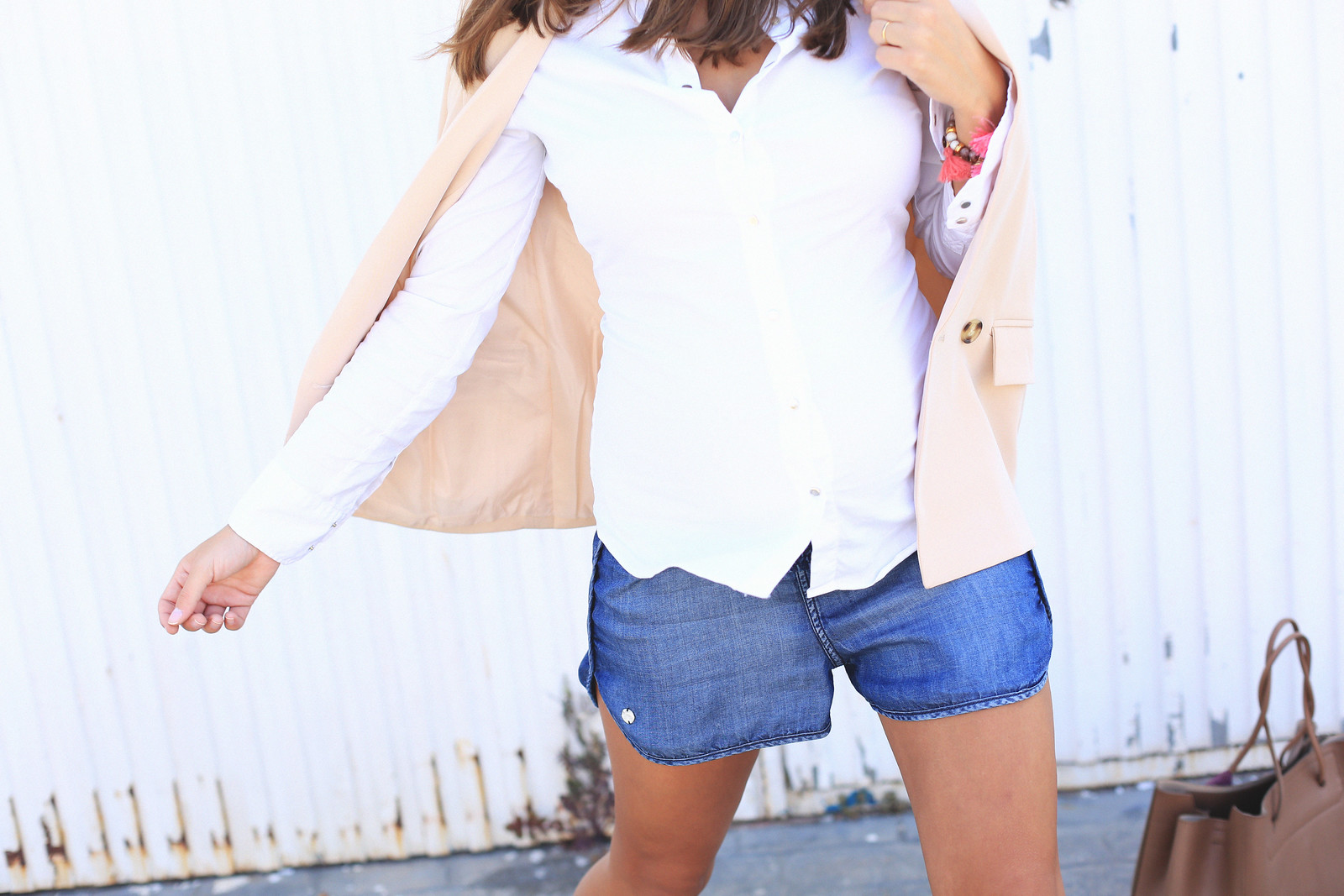 jessie_chanes_seams_for_a_desire_denim_short_nude_blazer_2