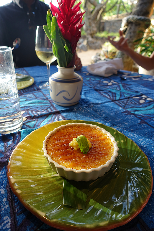 mama's fish house creme brulee