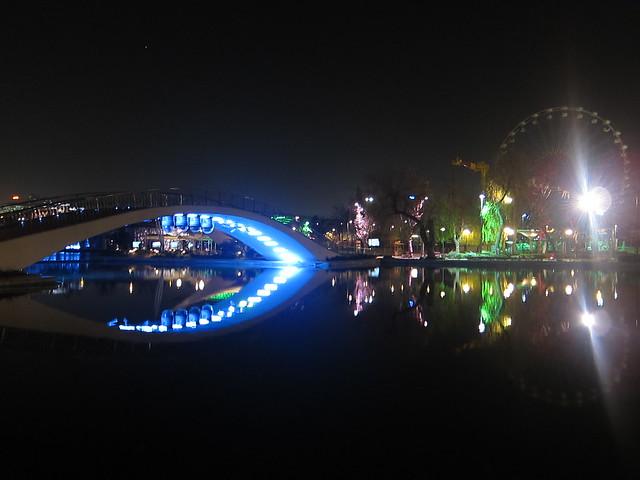 青年公園夜景