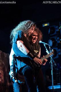Testament-Exodus en Barcelona Sala Salamandra 24-5-2015