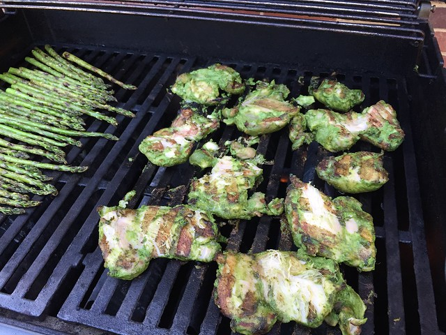 grilling green