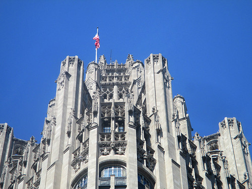 Magnificent Mile 155 - Tribune Tower | by worldtravelimages.net