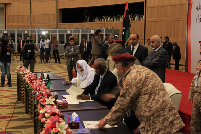 Sabha Peace Agreement, April 2013