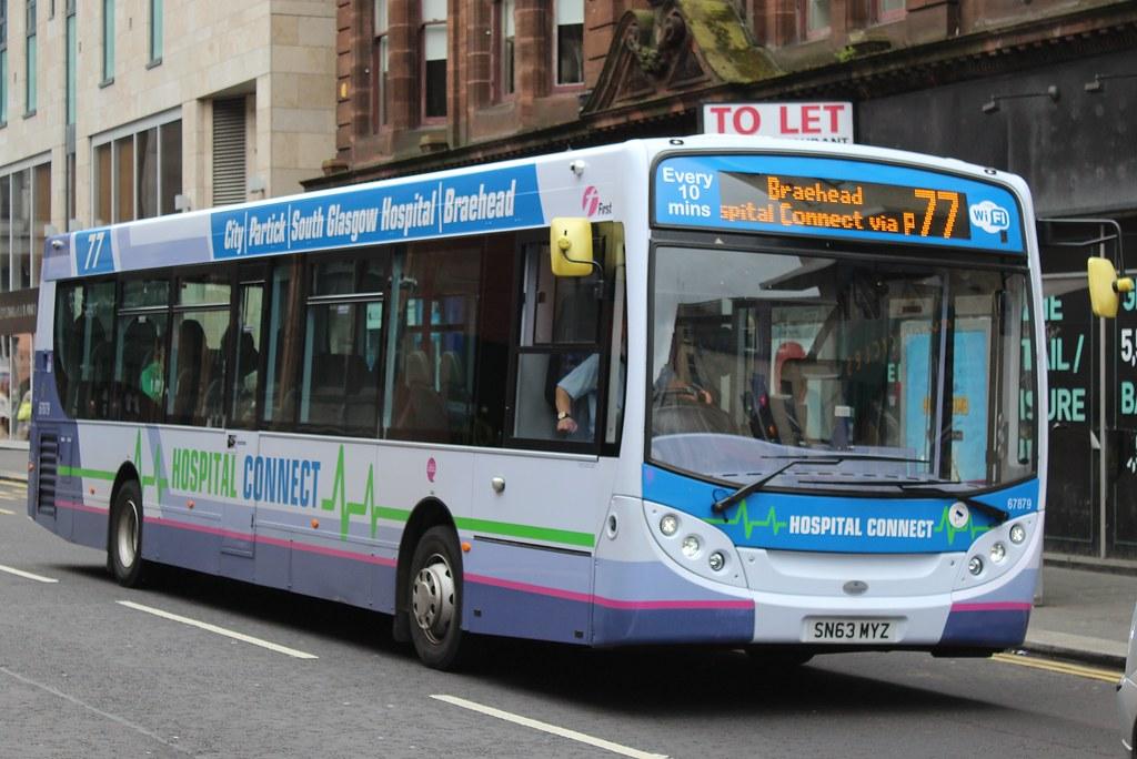 ... First Glasgow Alexander Dennis Enviro300 67879 (SN63 MYZ) | by john-s-
