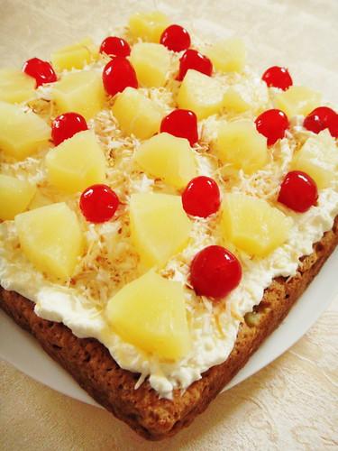 Magnificent Eggless Pineapple Birthday Cake Inspired To Bake Personalised Birthday Cards Akebfashionlily Jamesorg