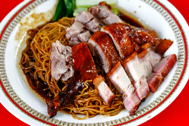 Roast Duck Roast Pork Noodle
