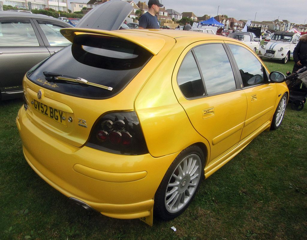 2002 mg zr 160 sunspot yellow monogram a great colour i flickr. Black Bedroom Furniture Sets. Home Design Ideas