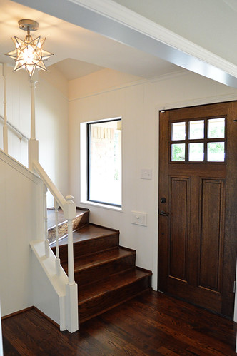 Entry, Dining Room, Exterior & Staircase - Our 9th Flip | by It's Great To Be Home
