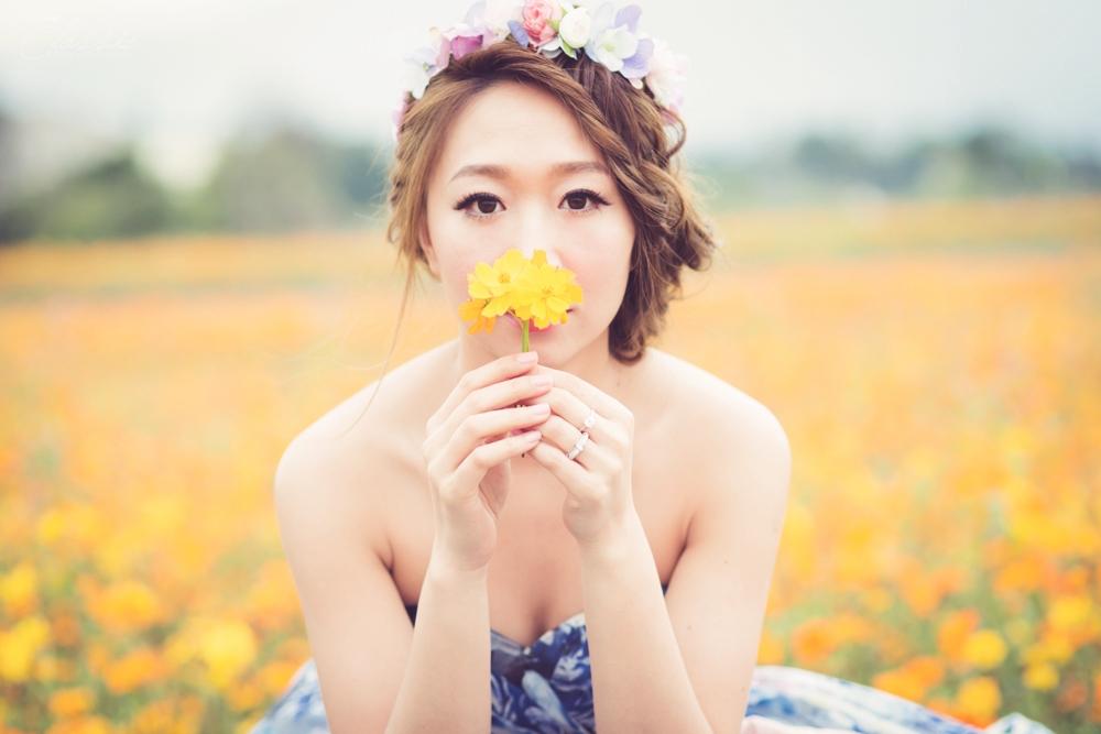 自然風格自助婚紗女攝影師