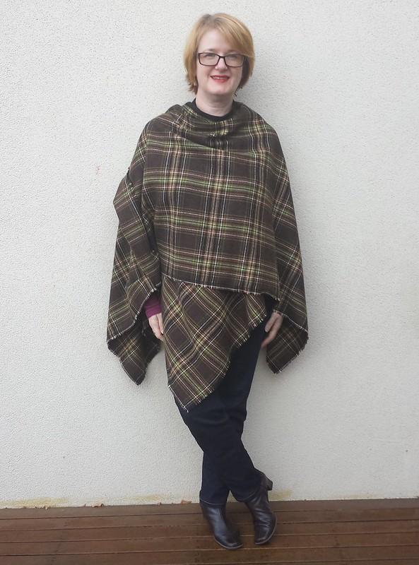 ruana blanket wrap