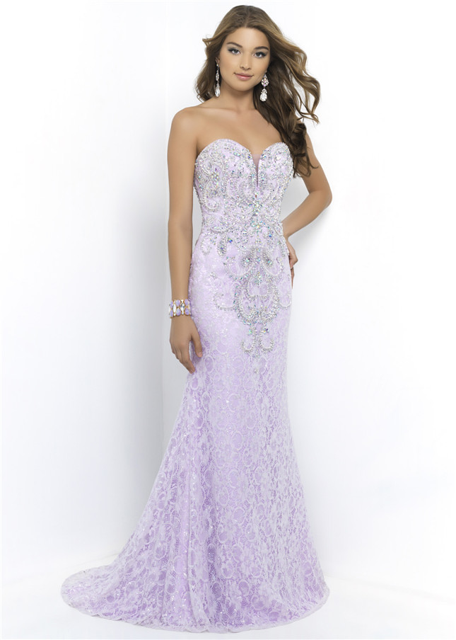 blush9964lilac strapless lilac beaded top lace cover