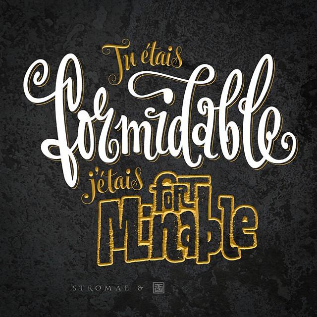 Muzcitata Stromaj Stromae Music Quotes Lettering Flickr
