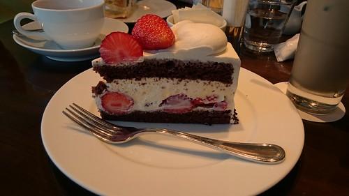ケーキがでかい