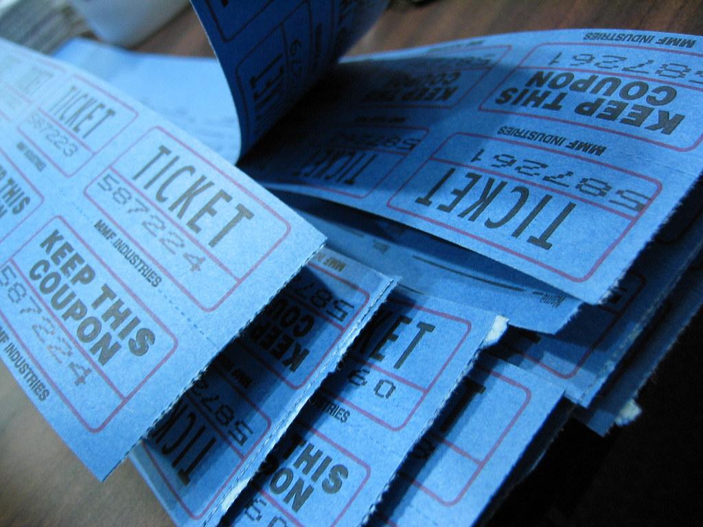 Event ticket ideas