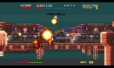 SEGA 3D Classics - 3D Thunder Blade