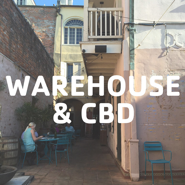 warehouse + cbd