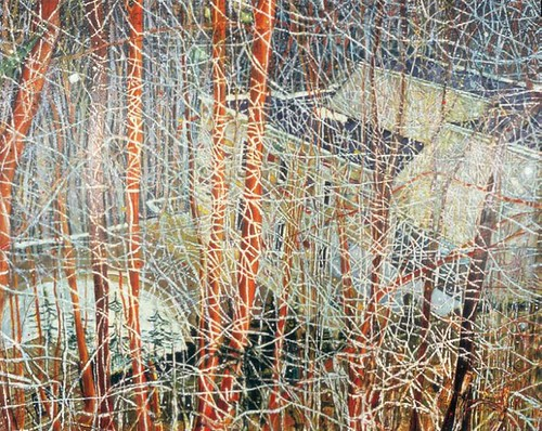 Peter Doig, The Architect's Home in the Ravine, 1991, Oil on canvas