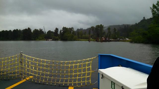 Cathlamet Ferry Oregon Landing