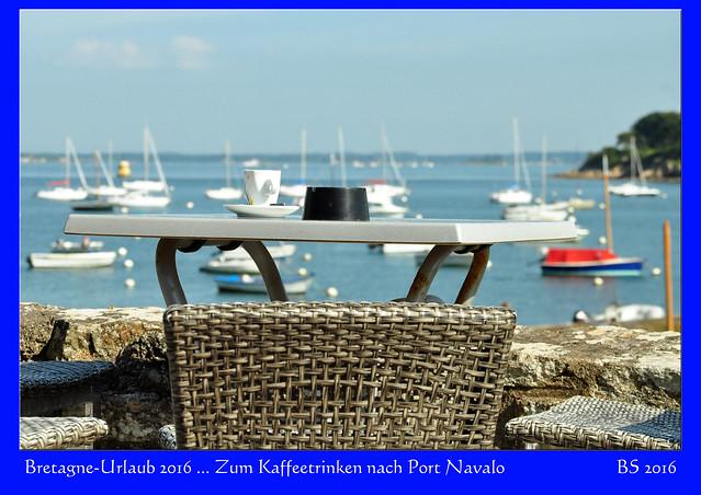 Bretagne - Port Navalo zwischen Atlantik und Golfe du Morbihan - Sommer, Meer, Sonne, blauer Himmel, Segelboote ... Fotos und Fotocollagen: Brigitte Stolle 2016