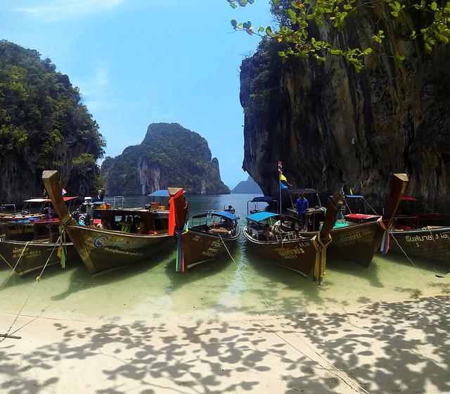 Preciosa estampa de Koh Lading, sin duda alguna una de las playas más bonitas de Tailandia