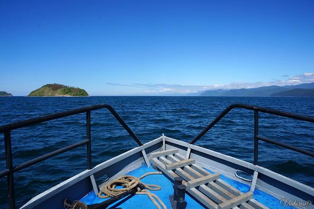 Прогулка на катере по Чивыркуйскому заливу.