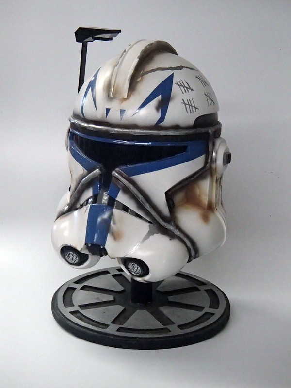 Captain Rex Helmet Finished 8