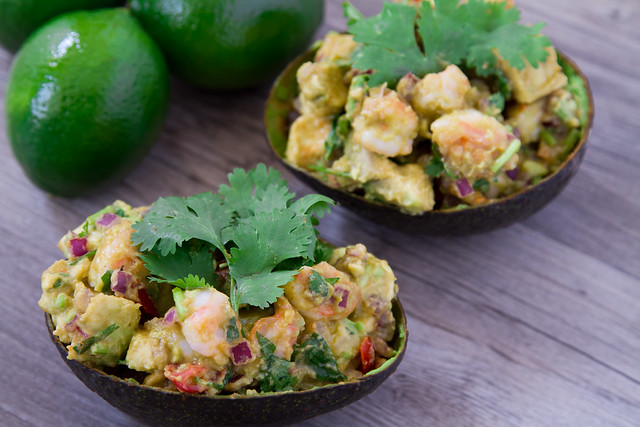 Shrimp Avocado Bowl-373