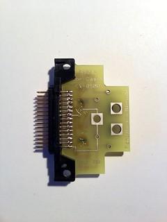 Casio RS232 Interface, Unterseite