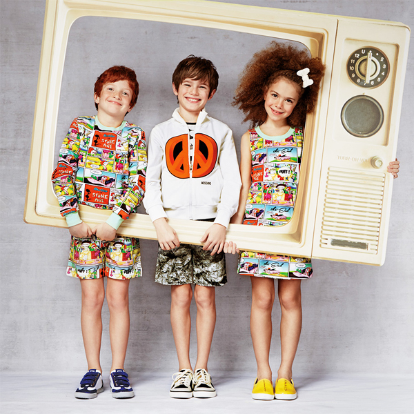 Moschino Kid Summer 2015 Collection - Kids Fashion Blog