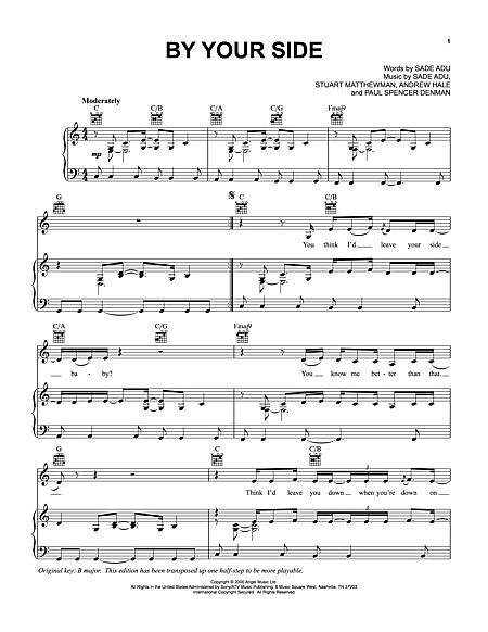 By Your Side Guitar Chords | via All about Guitars ift.tt/1C… | Flickr
