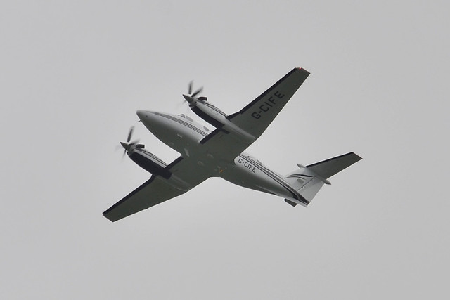 G-CIFE Beech 200 King Air