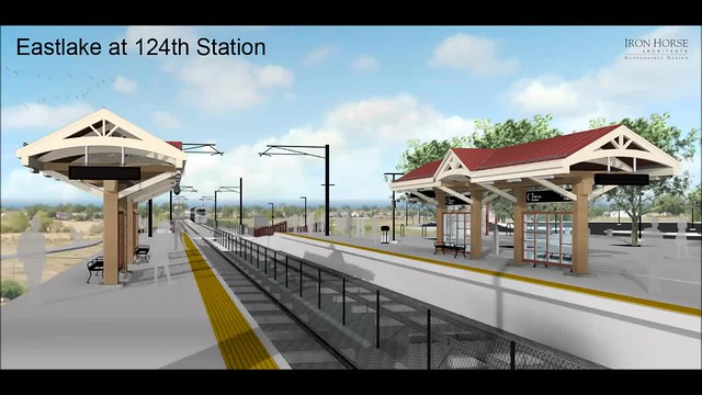 Eastlake-124th Station Rendering