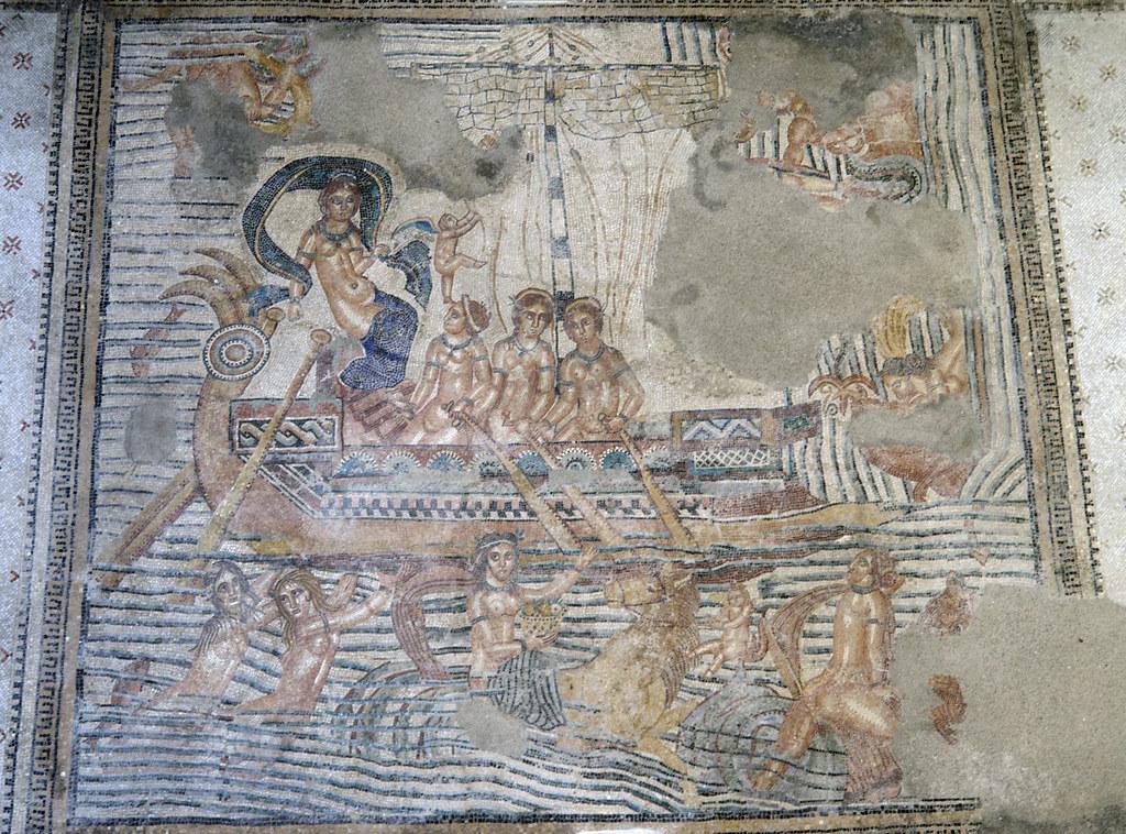 Navigium Veneris Mosaic From Volubilis 2 Found In The Ep Flickr