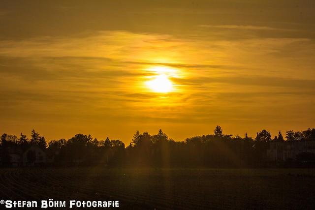 Sunset Feldmoching