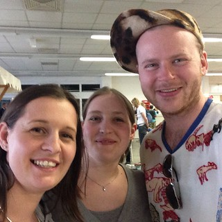 And of course @hexeklein and I met @westknits !!! 🎉#Berlinknits2015 @berlinknits2015