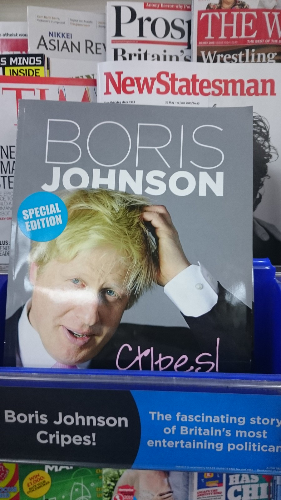 Boris Johnson - Cripes!